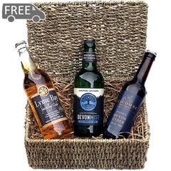 Triple Devon Cider Hamper