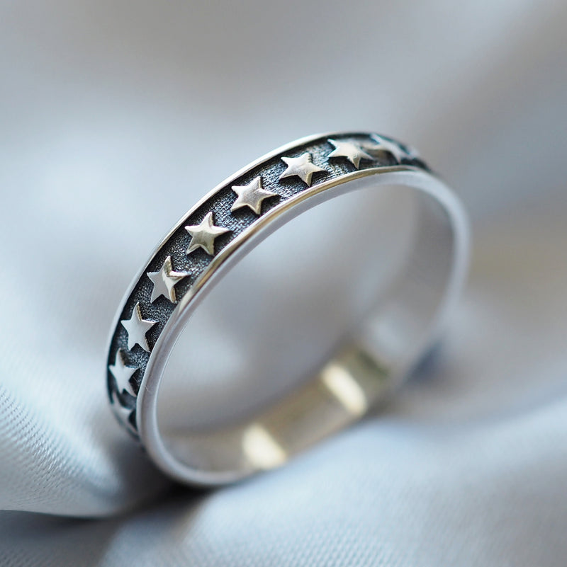 Stargazer - Sterling Silver Ring