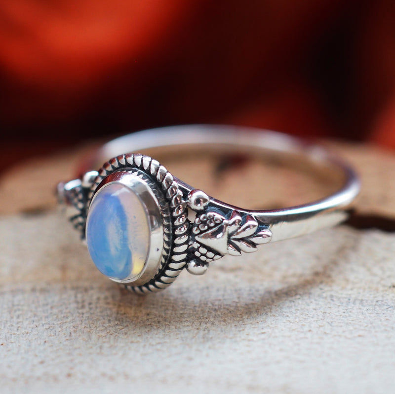 Venus - Sterling Silver Birthstone Ring