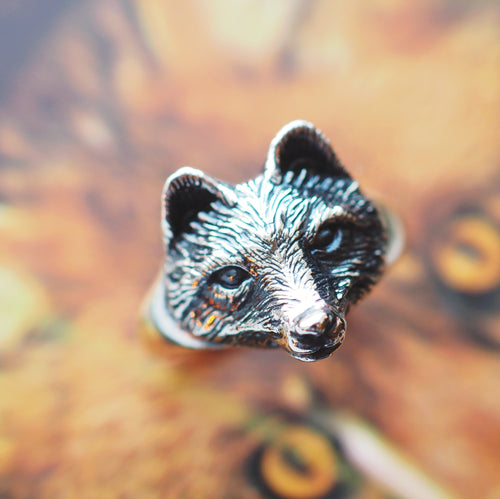 Vulpini - Sterling Silver Fox Ring