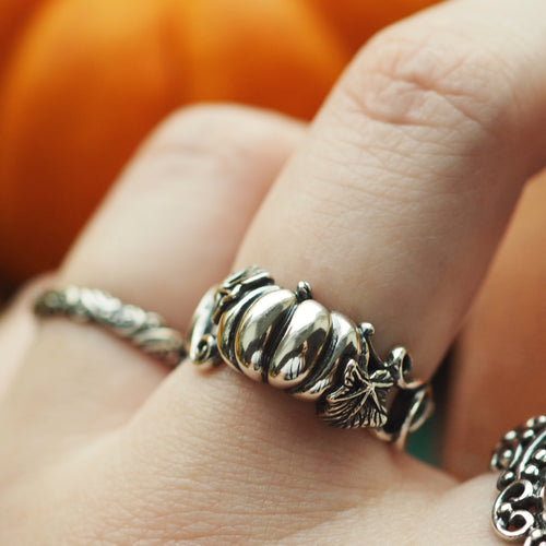Pumpkin Queen - Sterling Silver Ring