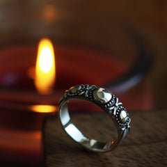 Genevieve - Sterling Silver Ring