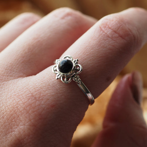 Spell - Black Onyx & Sterling Silver Ring
