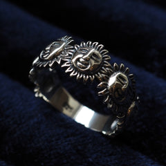 Helios - Sterling Silver Ring