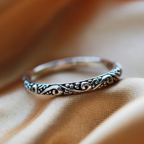 Flourish - Sterling Silver Ring
