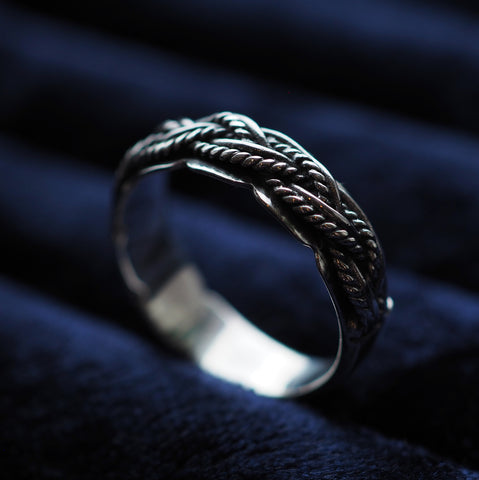 Rapunzel - Sterling Silver Ring