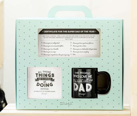 kit super papà mrwonderful
