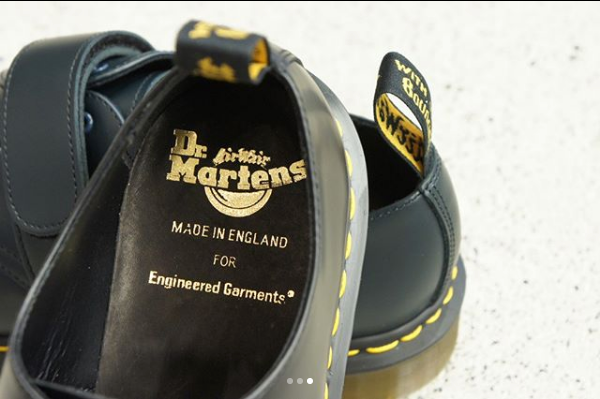 Dr Martens x Engineered Garments Release