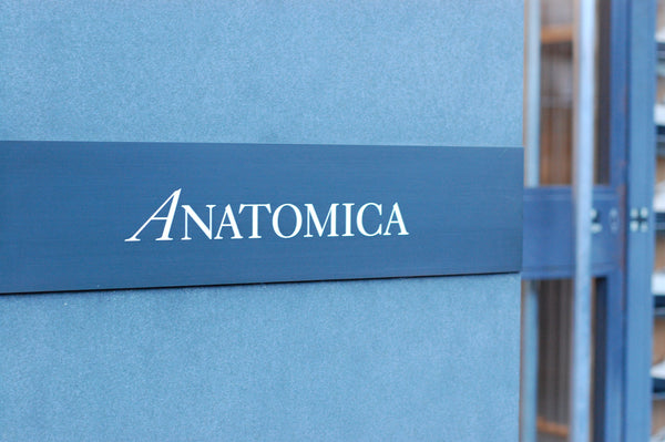 Anatomica Shop Sign