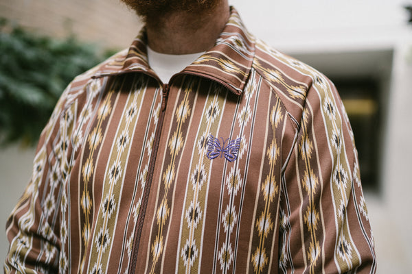 Needles Woven Track Jacket Kilim