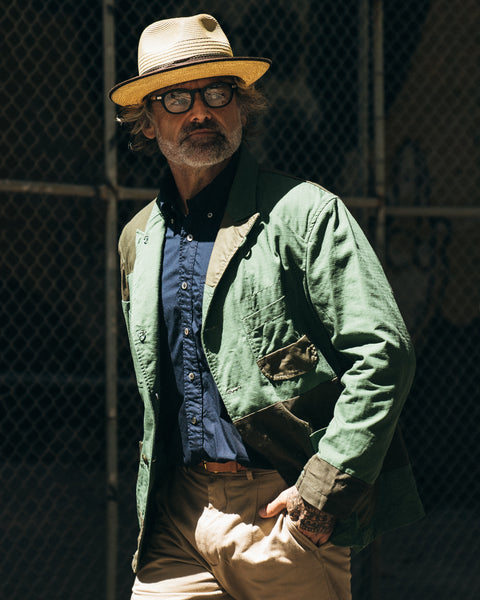 Engineered Garments Bedford Patchwork SS19