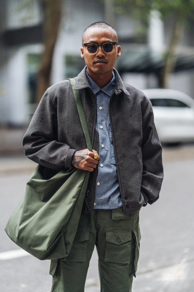 Engineered Garments FA Pant Olive Ripstop