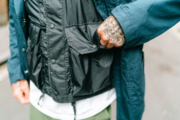 Engineered Garments Field Vest Micro Ripstop
