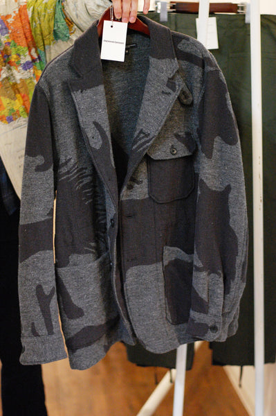 Engineered Garment Benson Jacket Animal Jacquard