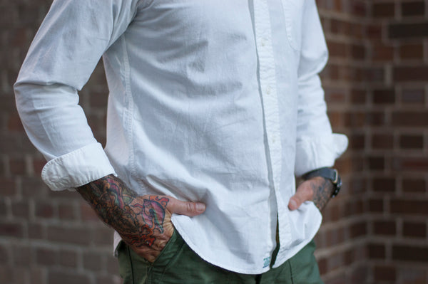 orSlow BD SHirt White