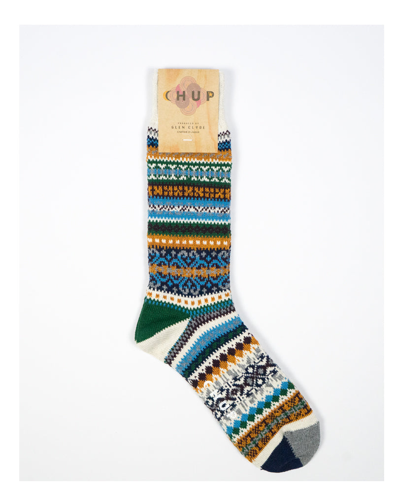 Chup Sock Swedish Block Oatmeal