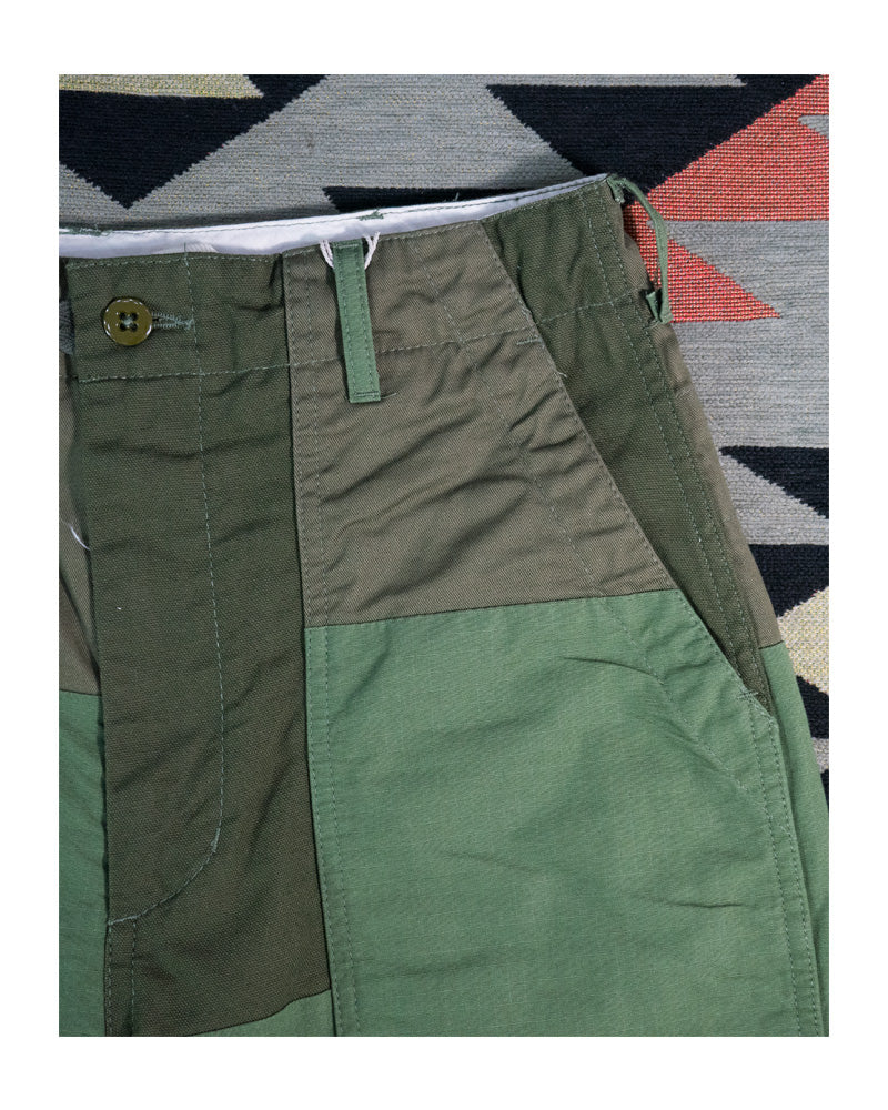 Engineered Garments Fatigue Pant Olive Cotton Ripstop