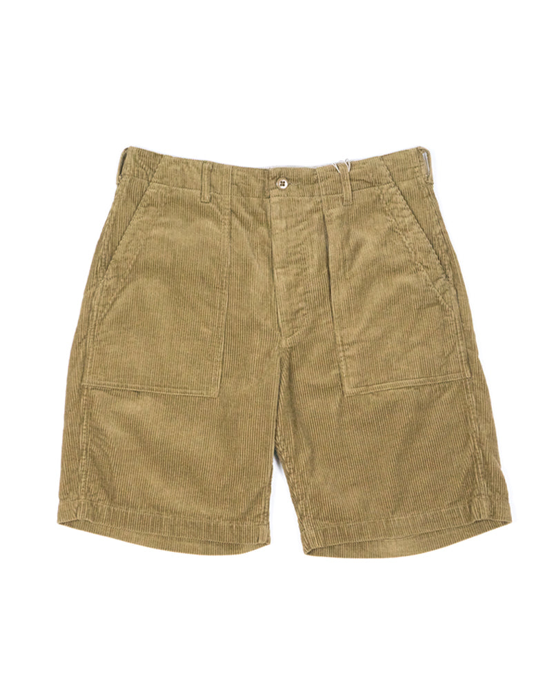 Engineered Garments Fatigue Short Khaki 8W Corduroy