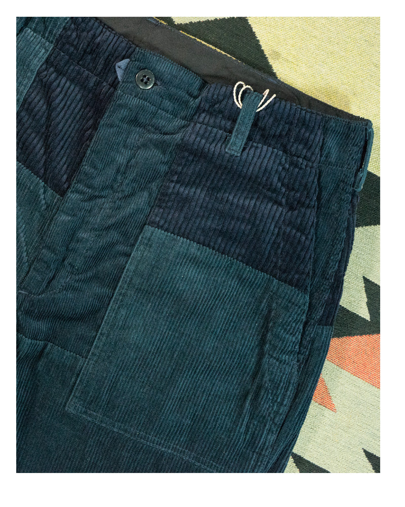 Engineered Garments Fatigue Pant Navy 8W Corduroy