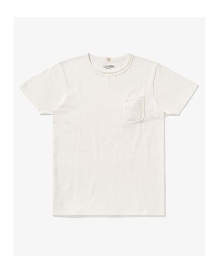 Lady White Clark Pocket Tee White