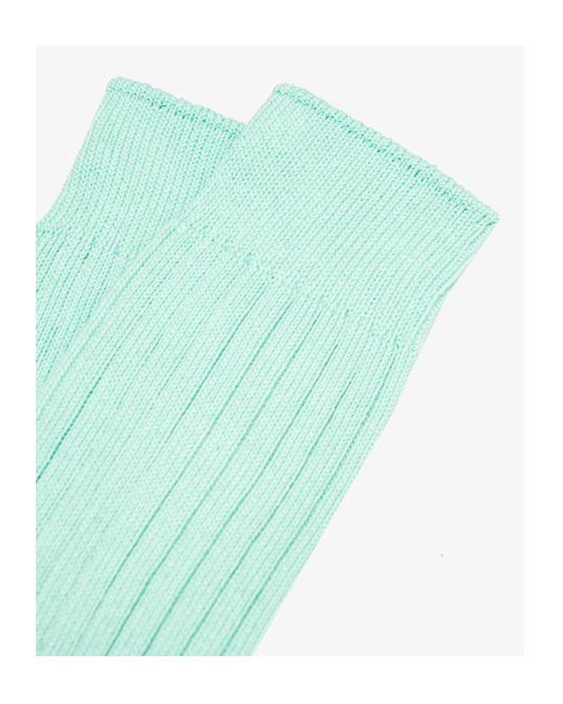 Lady White Co. Natural Athletic Socks Jade