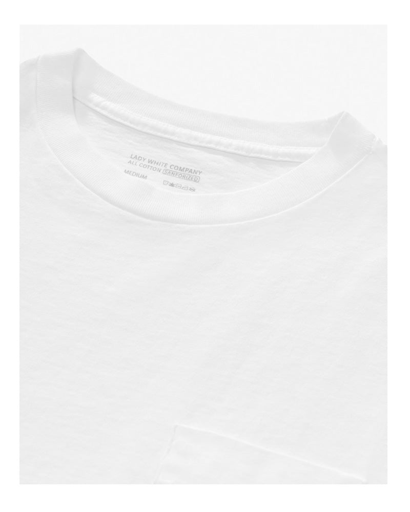 Lady White Co Balta Pocket Tee