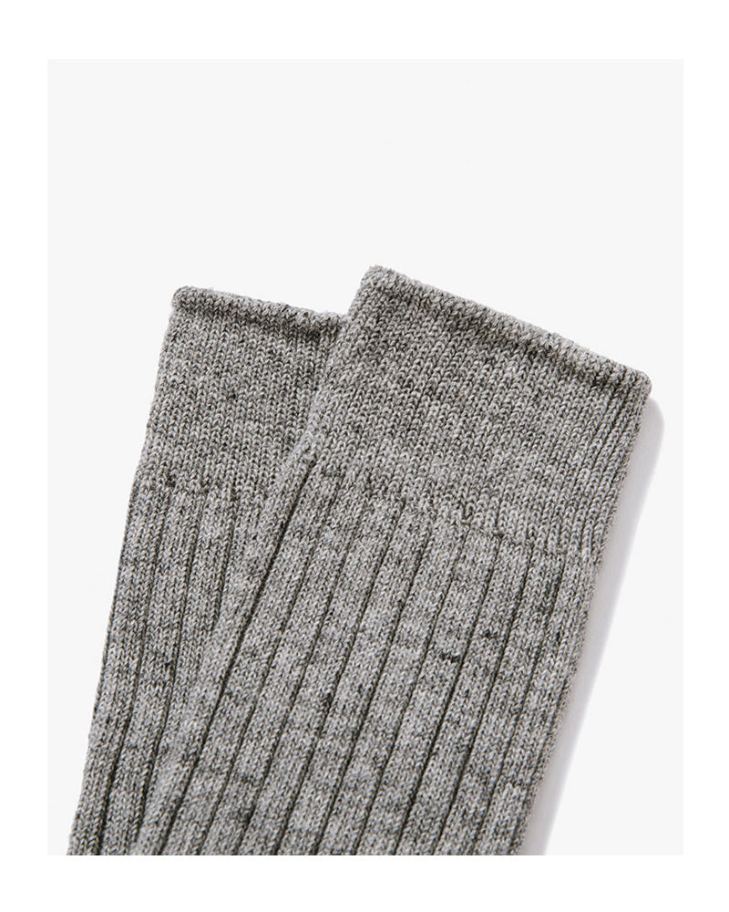Lady White Co. Natural Athletic Socks Grey