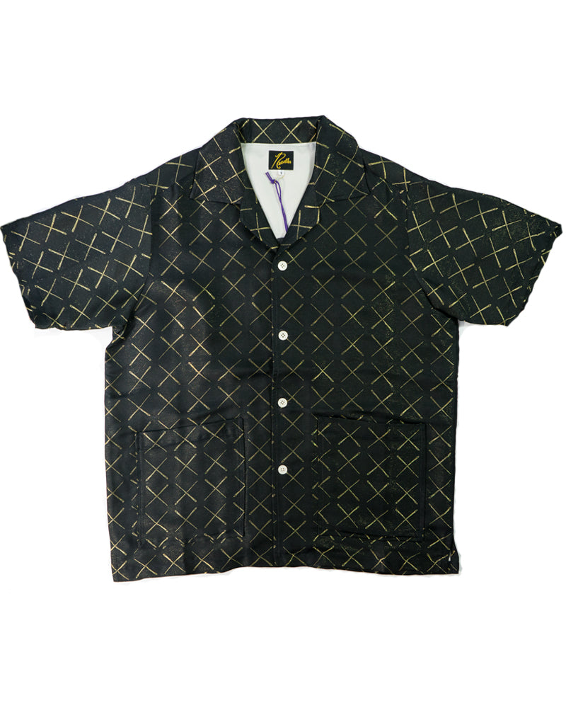 Needles Cabana Shirt Black Needles Jacquard