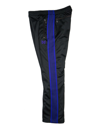 Needles Narrow Track Pant Charcoal Poly Smooth
