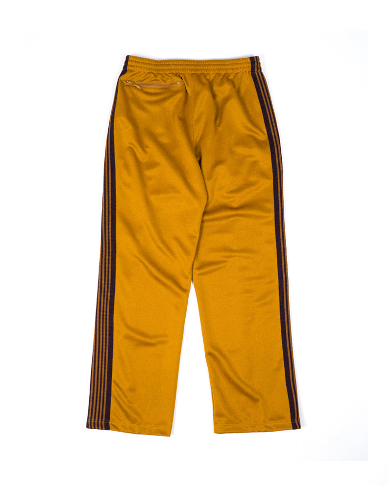 Needles Track Pant Poly Smooth Mustard
