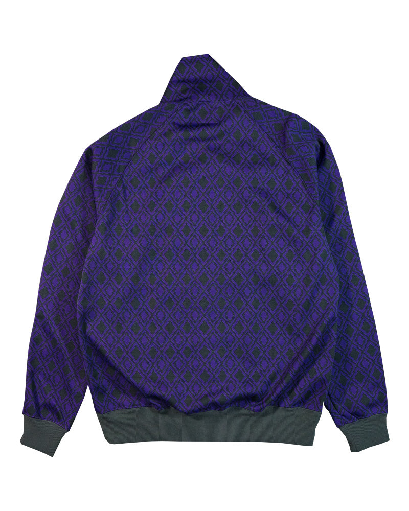 Needles Track Jacket Poly Jacquard Diamonds