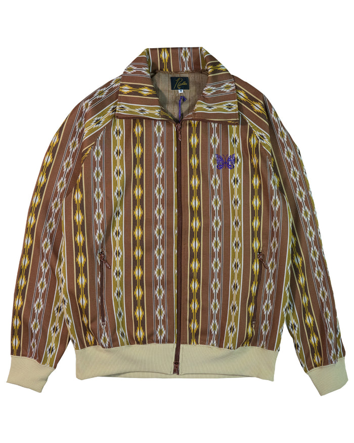 Needles Track Jacket Poly Jacquard Kilim