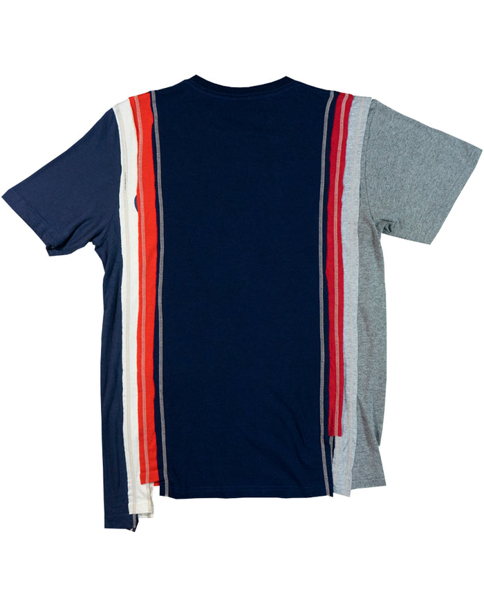 Rebuild by Needles 7-Cut Short Sleeve Tee College Small