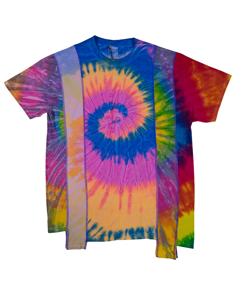 Rebuild by Needles 5-Cut Short Sleeve Tee Tie-Dye Small