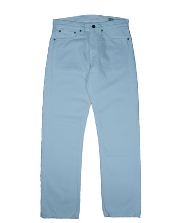 Orslow 107 Ivy Fit Denim White