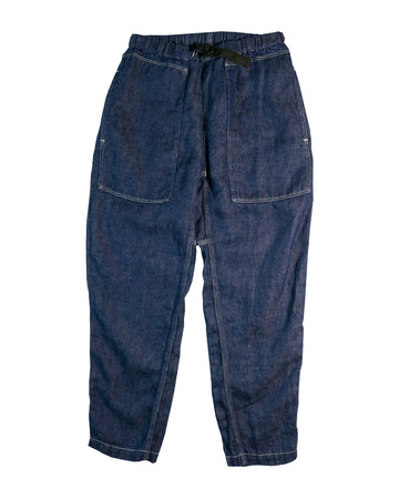 orSlow Climbing Pants Linen Denim One Wash