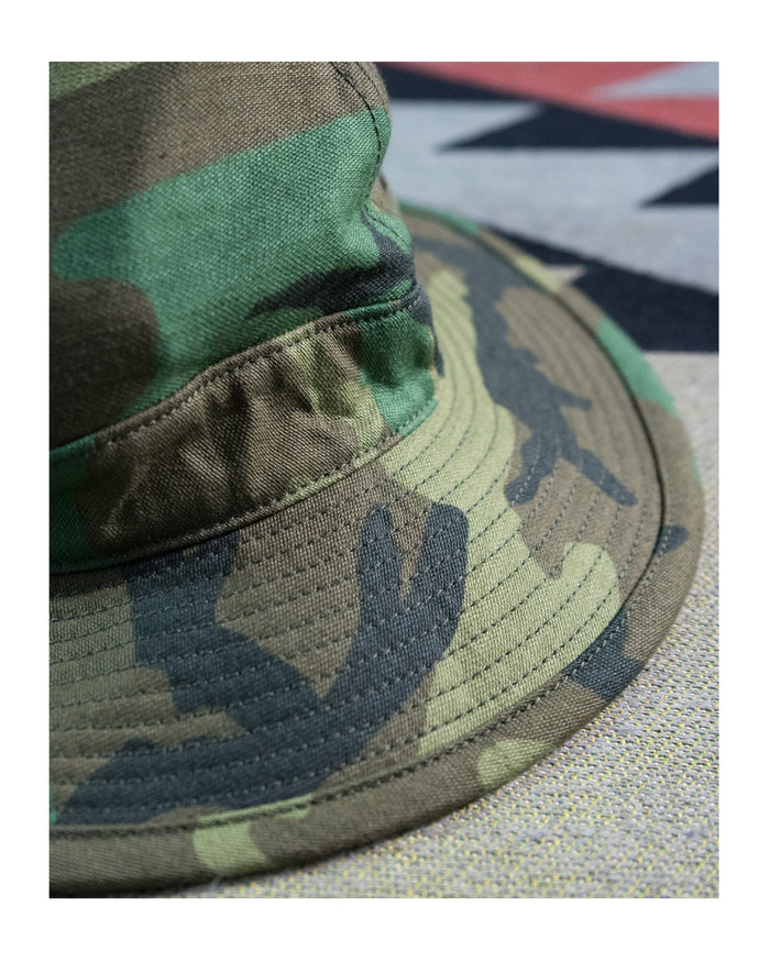 Orslow US Navy Hat Woodland camo