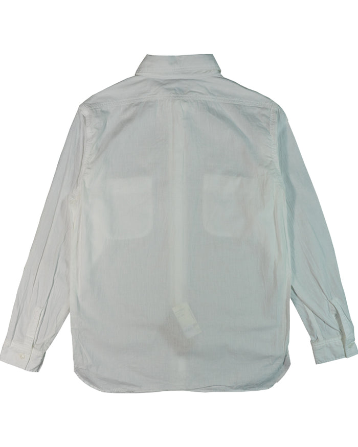 Orslow Work Shirt White