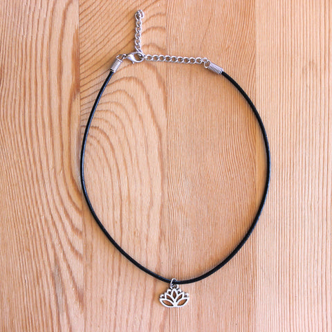 Lotus Flower Choker