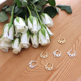 Septum Faux Nose Rings (Gold & Silver)