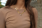 Gold Circlet Necklace