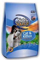 NutriSource Cat and Kitten Chicken Salmon and Liver Dry Cat Food