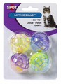 Ethical Pet SPOT Lattice Ball with Bell Cat Toy