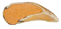 Redbarn Peanut Butter Filled Hooves Dog Treats