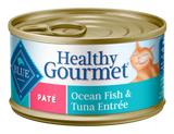 Blue Buffalo BLUE Healthy Gourmet Adult Ocean Fish and Tuna Entree Canned Cat Food