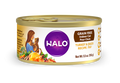Halo Grain Free Indoor Cat Turkey & Duck Pate Canned Cat Food