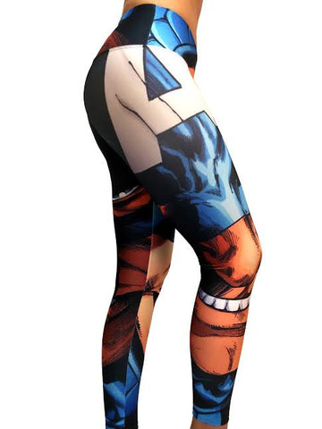 Captain America III - Leggings - Butterfly Armor