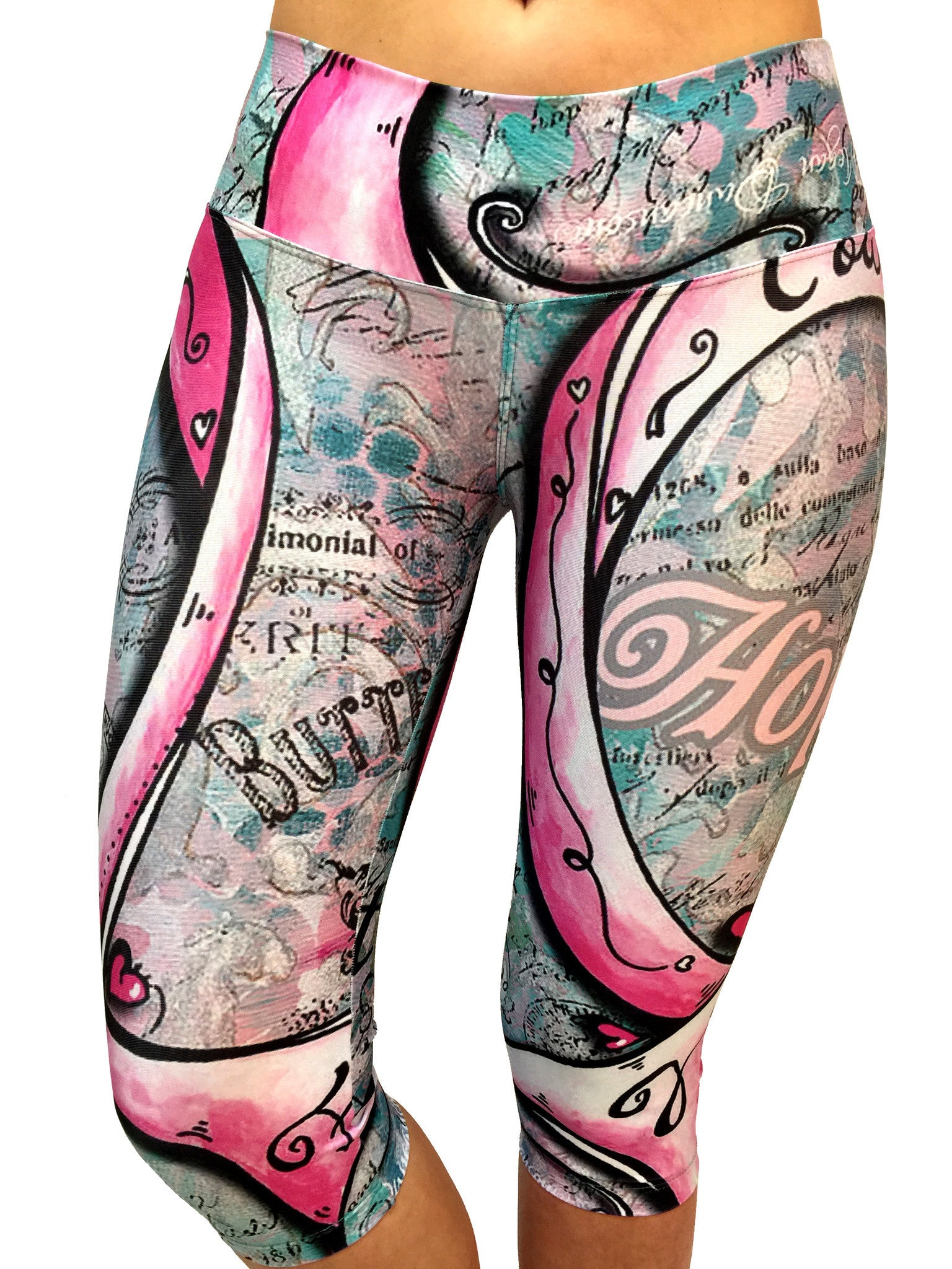 Courage Capri - Leggings - Butterfly Armor