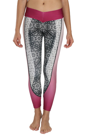Diamond Pink - Leggings - Butterfly Armor