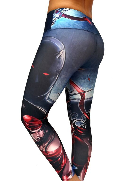 Elektra - Leggings - Butterfly Armor